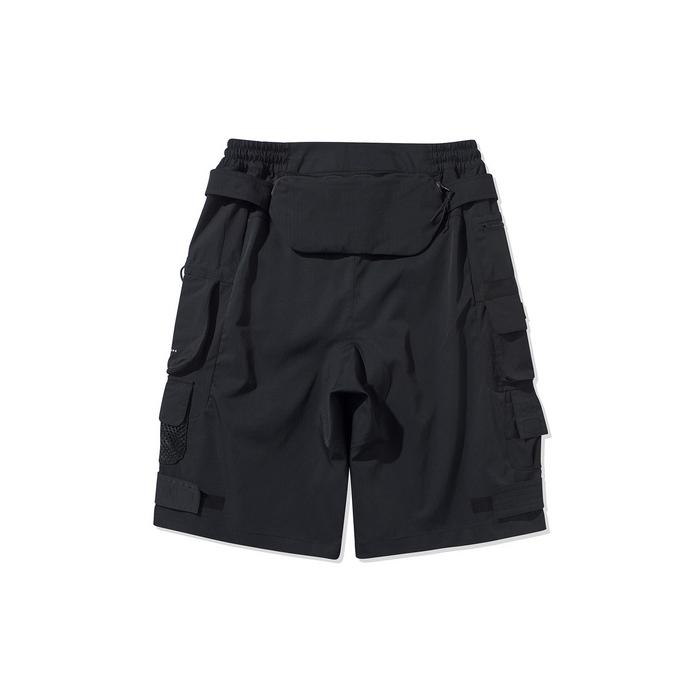李宁短裤 2020夏季新款篮球系列男宽松时尚休闲五分裤AKS