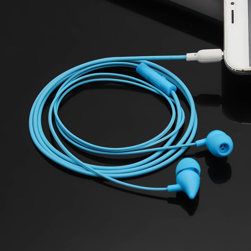 百灵通手机耳机入耳式有线耳塞重低音线控通用音乐小辣椒电脑耳机