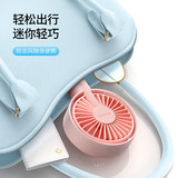 Flash Demon Small Fan USB Mini Desktop Student Charges Portable Small Desktop Desktop Chuck Clip Bed With Hand-Held Small Electric Fan Office Fan Dorm Table Cute