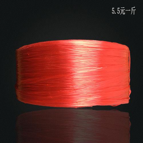 红色打包绳 封包绳 蔬菜打包绳 编织袋封包绳 捆扎绳 商业打包绳