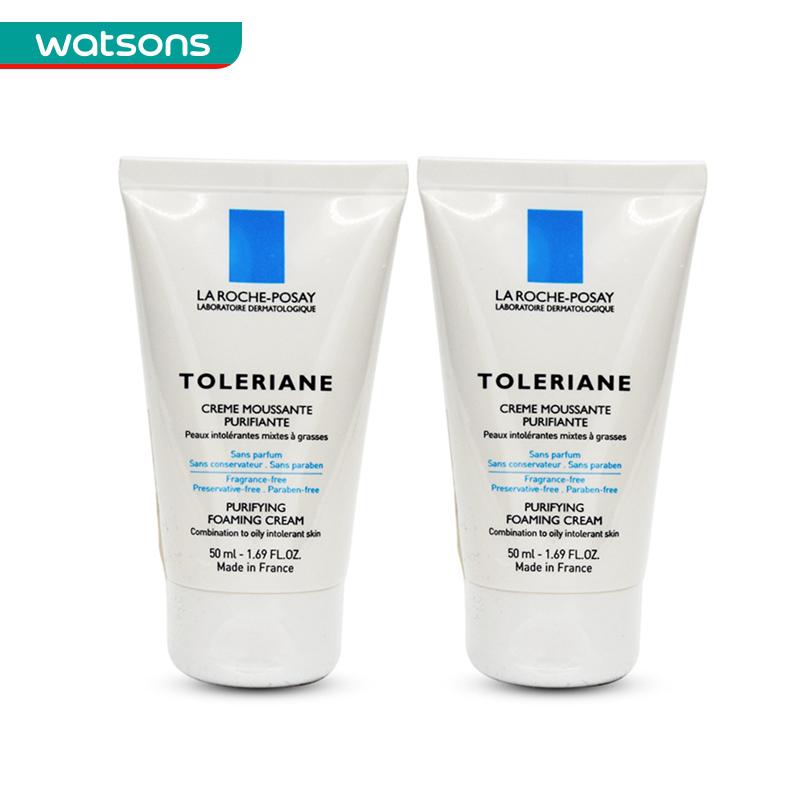 2  敏感肌温和舒缓洗面奶 支 预售屈臣氏理肤泉特安洁面双享 50ml