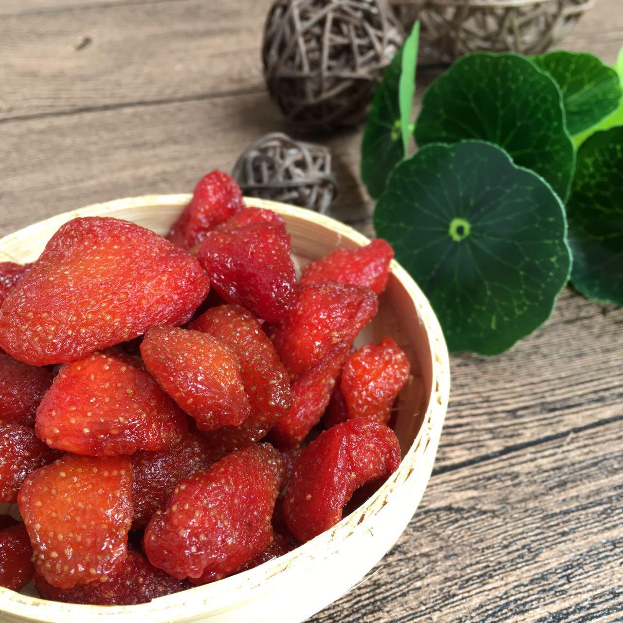 闽南果味多法兰蒂草莓干草莓蜜饯果脯250g