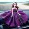 汽车摆件创意可爱婚纱蕾丝网纱公主娃娃车载摆件车内饰品装饰礼品
