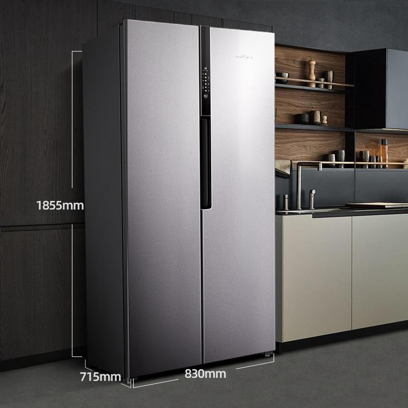 变频风冷无霜双门冰箱双开门冰箱家用节能双开门冰箱 518 BCD 新飞