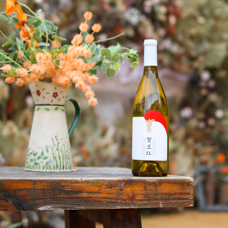 干白葡萄酒 国货之光 中国宁夏贺兰山东麓贺兰红霞多丽 国产红酒