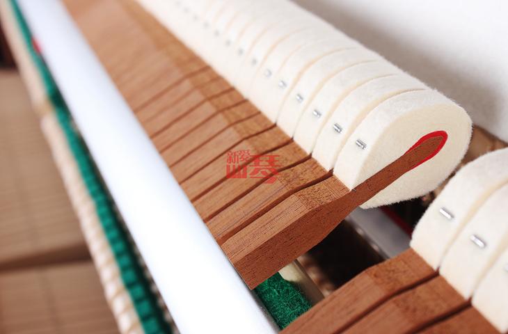 日本原装 超新木色 年产 2005 古典收藏立式钢琴 C113 KAWAI 卡哇依