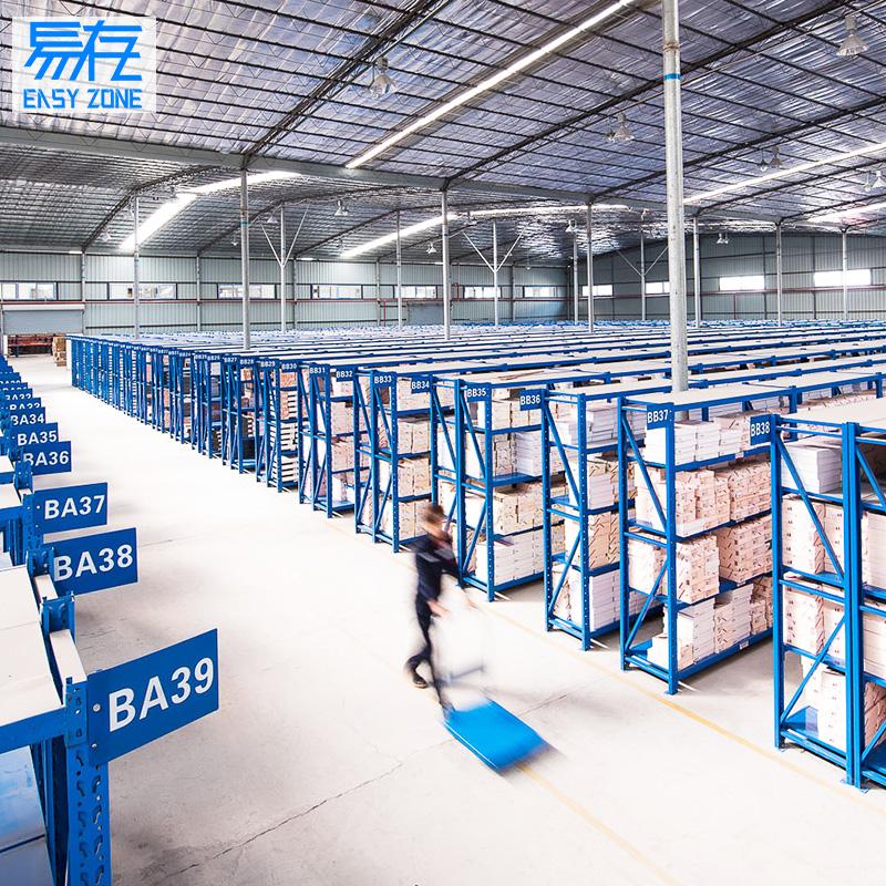 易存货架展示架仓库仓储家用多功能自由组合置物架库房多层铁架子
