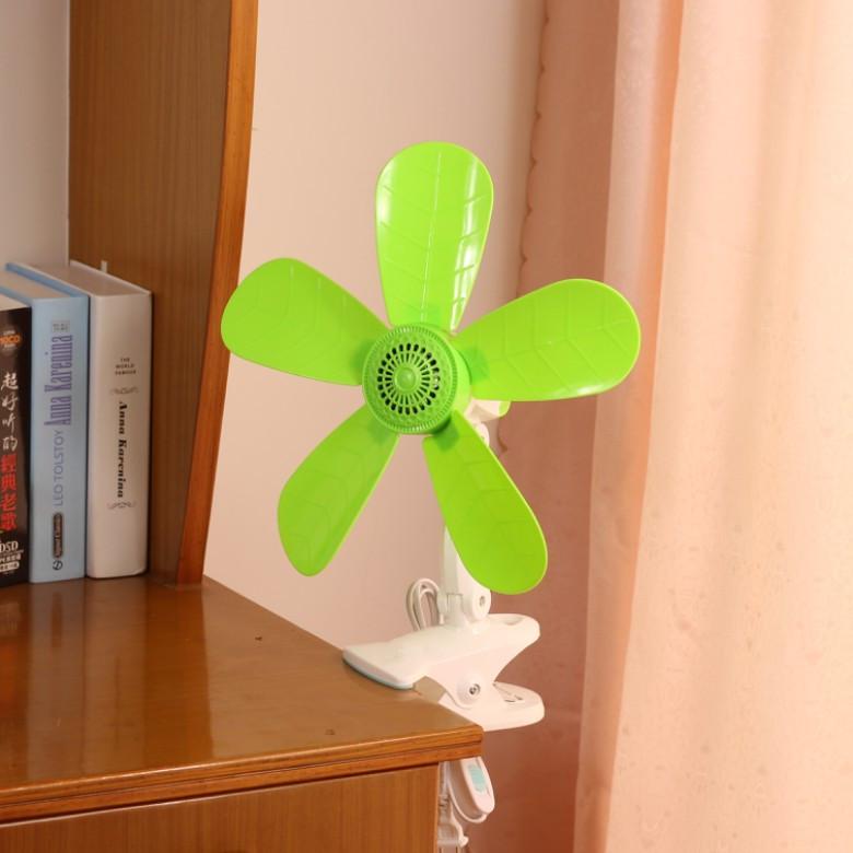 夹扇学生宿舍床头蚊帐电风扇静音台式扇壁扇办公室家用迷你小风扇