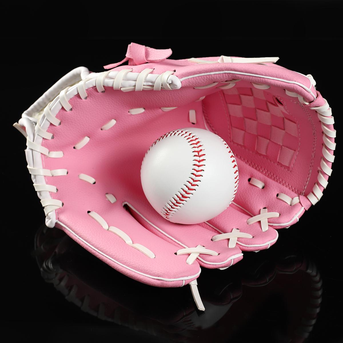 包郵送棒球 內野投手棒球手套 壘球手套 環保降解材料不傷手