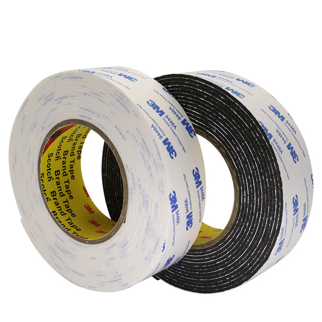 3M foam foam double-sided tape, high-viscosity waterproof hardware, strong fixed double-sided tape for advertising office cars
