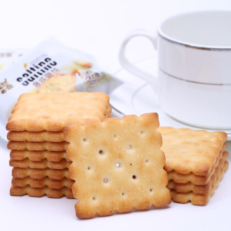 自然之恋咸脆饼干批发整箱1500G散装零食休闲小吃点心素食饼干