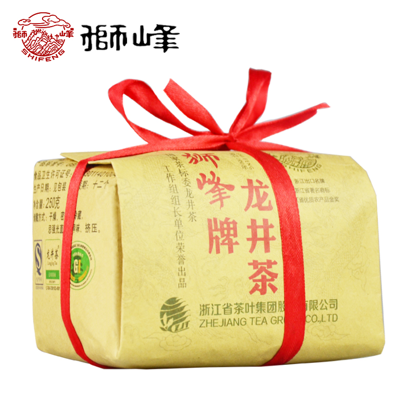 口粮茶 传统纸包 绿茶 250g 明前特级 狮峰牌龙井茶叶 年新茶 2018