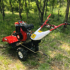 The new four-wheel drive front rotary micro-tiller