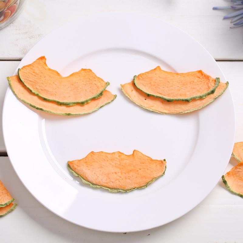 纯手工水果干 哈蜜瓜果干片60g 水果片茶宝宝零食 天然水果干茶片