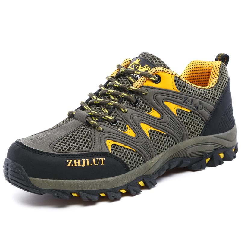 夏季初中学生防臭运动鞋男士休闲男鞋青少年透气户外登山跑步鞋子