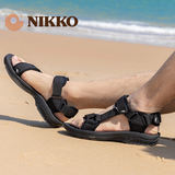 Nikko Hidaka outdoor sandals men sandals soft bottom non-slip heavy-bottomed female quick-drying wading shoes upstream shoes