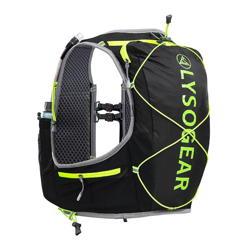 LS021805 领速户外休闲账动舒适轻便易携男女跑步背包 LYSO