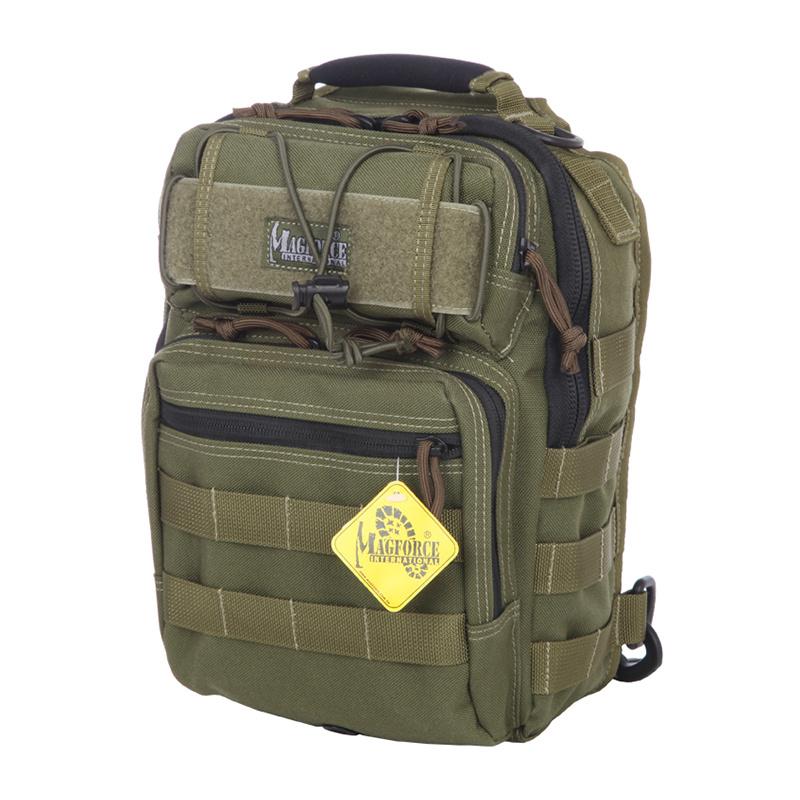 MAGFORCE/麦格霍斯军迷用品汉堡包胸包单肩斜跨包时尚素色M 0422