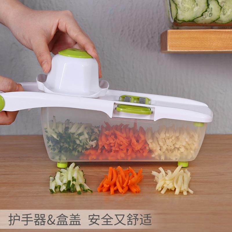 土豆丝切丝器切菜神器滚筒厨房多功能刮丝擦子擦丝家用切条刨丝器