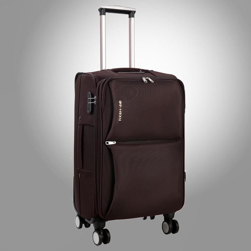 24寸学生万向轮拉杆箱28男牛津布行李箱22寸女旅行箱包登机皮箱子
