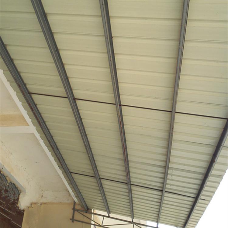 840型蓝色波浪瓦 镀锌彩瓦 彩钢瓦 铁皮瓦 板房屋面工地围栏隔板