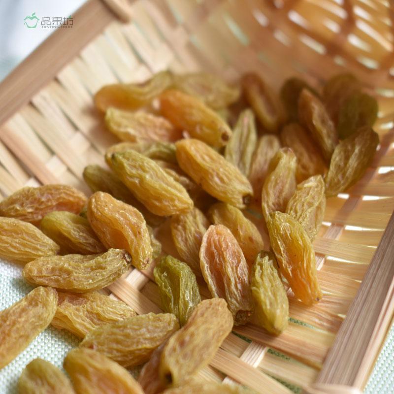 好货包邮 未添加 树上黄萄葡干自然晾晒 500g 新疆吐鲁番葡萄干