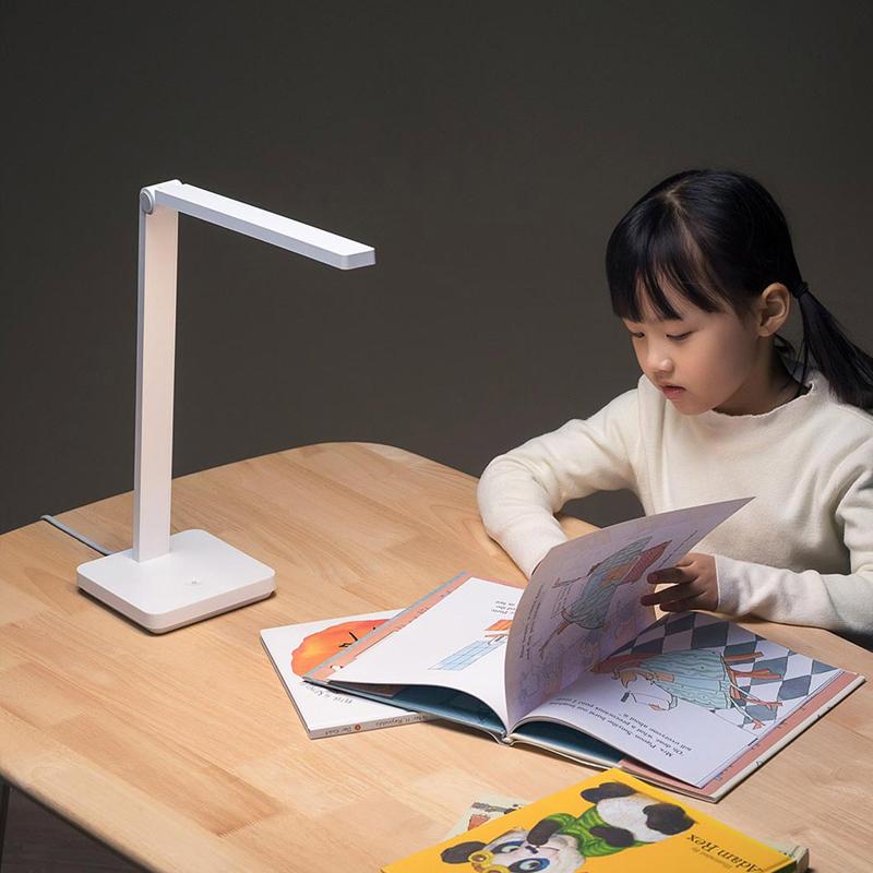 小米 米家台灯Lite家用卧室宿舍书桌学生学习阅读护眼LED床头灯主图