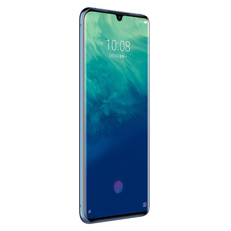 雙卡雙待八曲面全面屏手機 4G 5G 全網通 855 驍龍 128GB 6GB 萬超廣角三攝 4800 AXON10PRO 天機 ZTE 中興 手機 5G