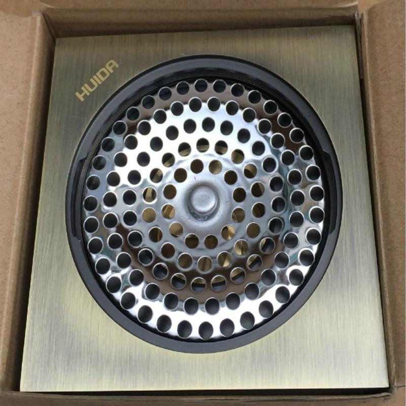 促销特惠 HDFD8823 铜仿古青铜色方形防臭芯 59A 惠达卫浴专柜卫生间