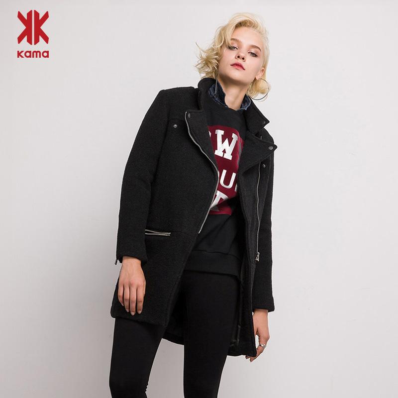 清仓价 KAMA 卡玛 中长款女式外套2件套 天猫优惠券折后¥29包邮(¥129-100)3色可选