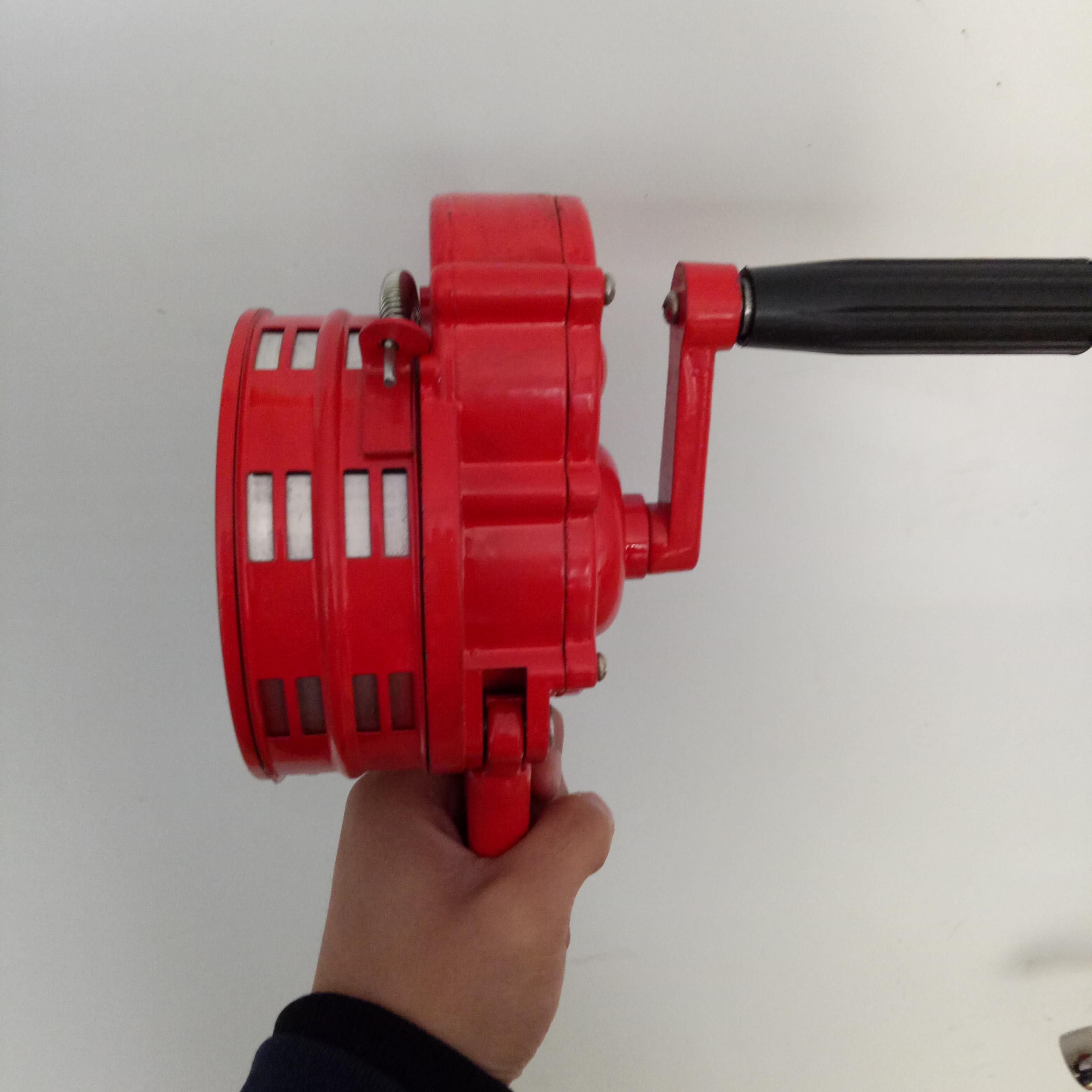 现货!手摇报警器 便携式手摇报警器LK100 铝合金 矿山报警器