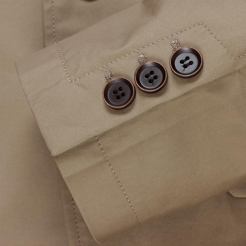 欧卡多春秋季男装新款 男士休闲西装外套 商务修身小西服纯棉单西