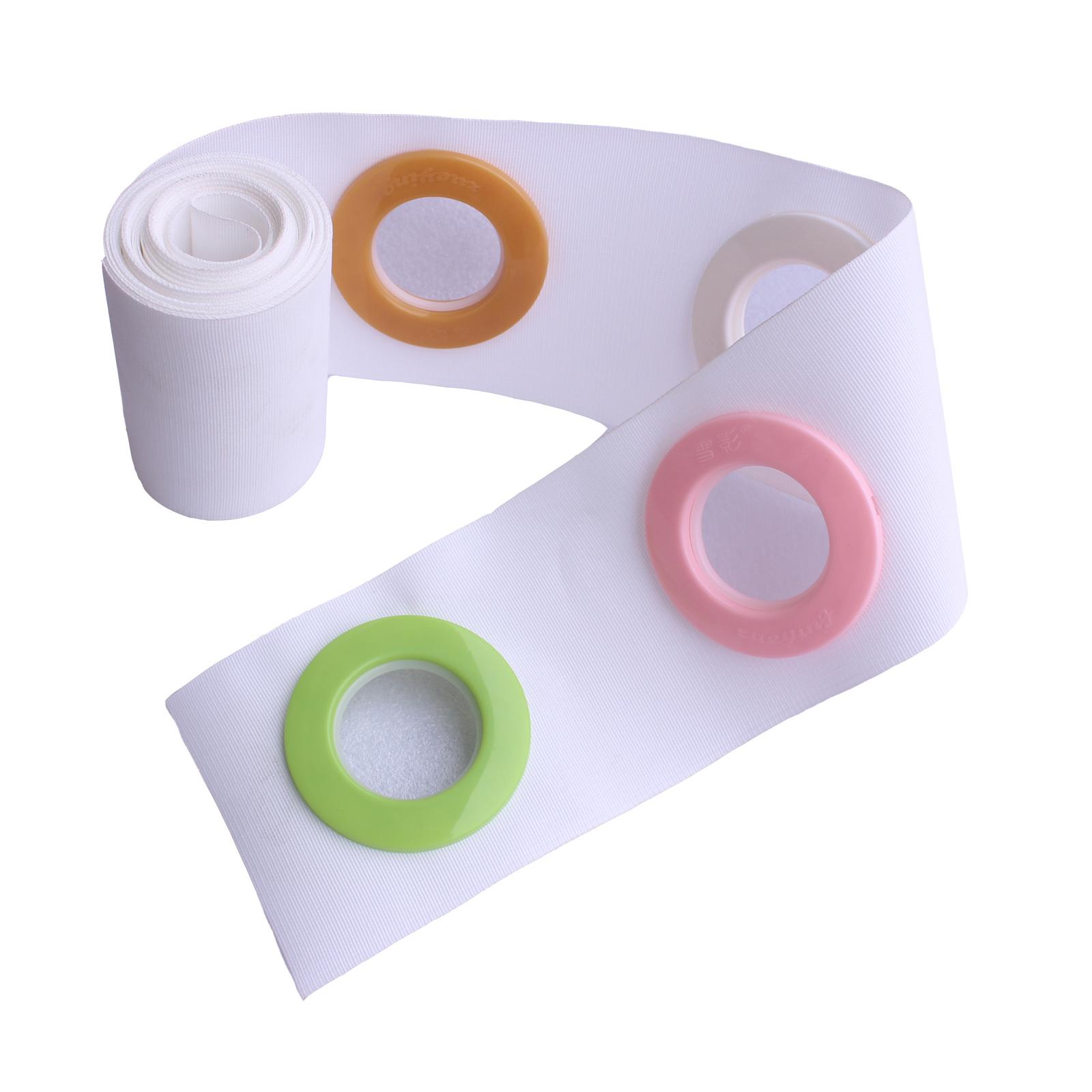 【10-66米】窗帘打孔带有纺布带 窗帘布带 耐水洗平带白布条