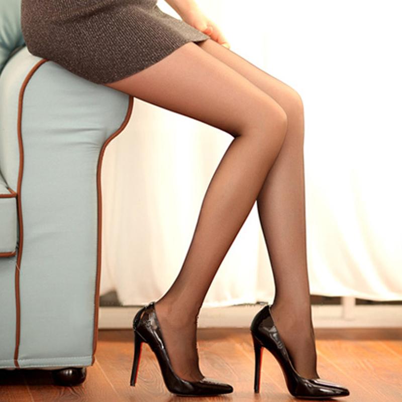 6双丝袜女夏季超薄黑色T裆性感大码防勾丝胖mm薄款肉色连裤袜心宇 No.1