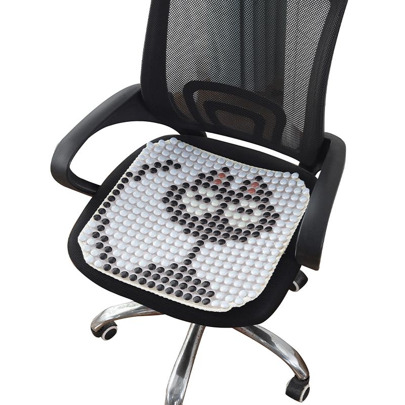 夏季办公椅垫电脑椅子垫凉坐垫透气防滑凉席汽车单片陶瓷餐椅座垫