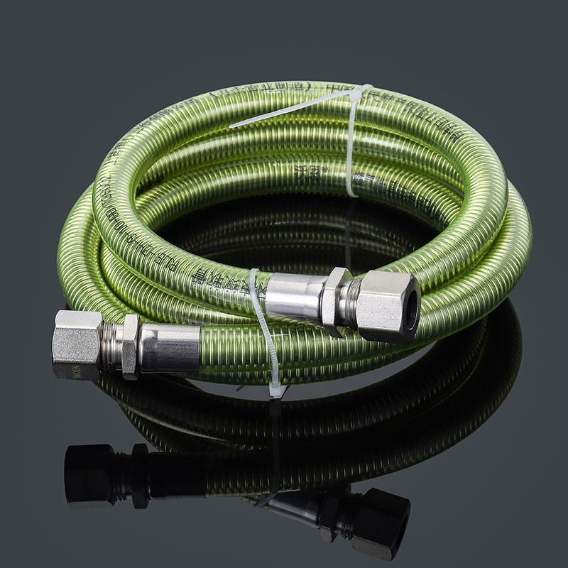 燃气管304不锈钢天然气管煤气管金属波纹软管燃气灶具热水器配件
