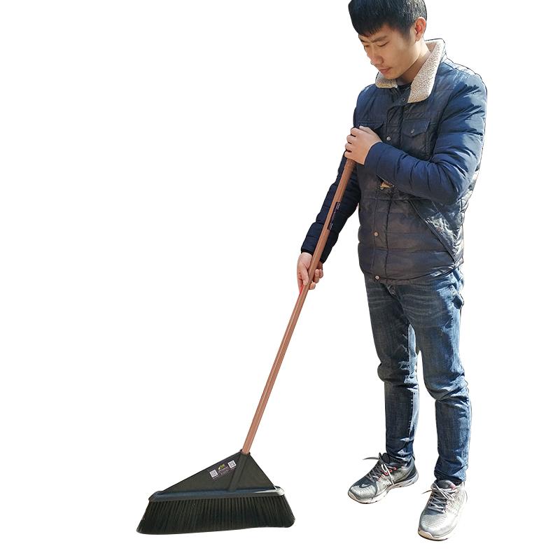 加宽扫帚塑料仓库环卫扫雪车间庭院特大钢杆加长超大扫地