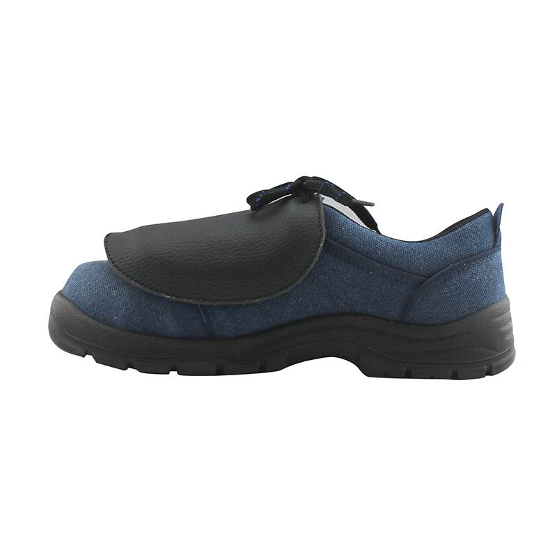 牛皮防砸脚盖耐油防砸鞋盖防护鞋套护具护脚套耐磨防油脚盖 优工