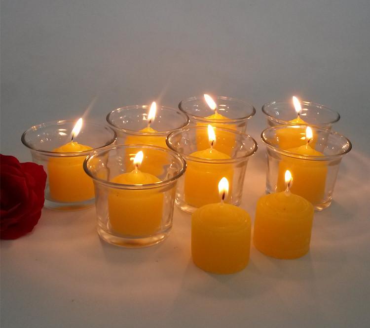 香茅油驱蚊208小蜡烛 迷你杯烛 香薰蜡烛无烟工艺蜡烛防蚊蜡烛