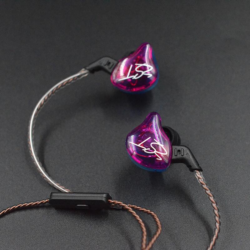 ZSR ZS10 ZST ZS6 KZ 插针 0.75mm 耳机原装线材镀金铜花绞升级线 KZ