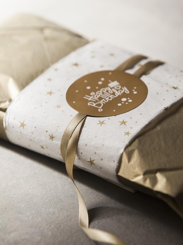 案头手礼原创设计礼品包装贴纸信封封口贴不干胶手账贴纸DIY