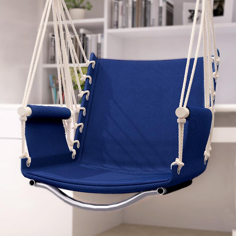 午憩宝升级宿舍吊椅寝室大学生单人儿童家用室内户外秋千吊篮
