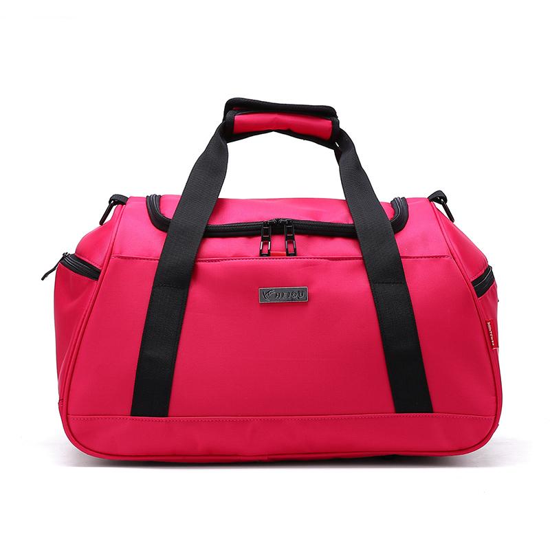 超大容量手提鞋位旅行包男女运动健身包行李包单肩短途旅行袋旅游