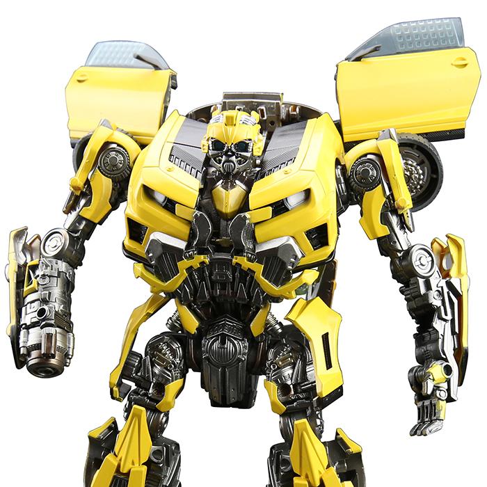 孩之宝变形金刚大黄蜂领袖级L级 电影原版大黄蜂改造重涂定制