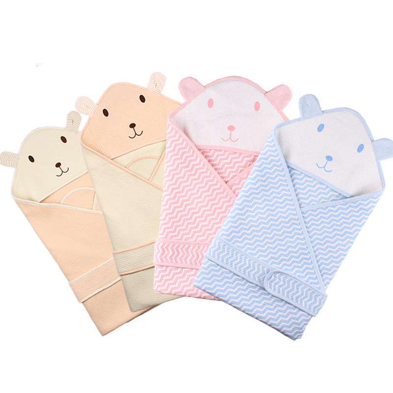 秋冬婴儿小被子抱被纯棉新生儿加厚包被襁褓初生抱毯夹棉宝宝用品