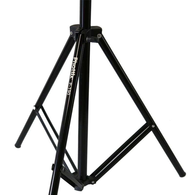 富达时PHOTTIX 1.9米摄影灯架摄影棚三脚架闪光灯柔光箱器材88201