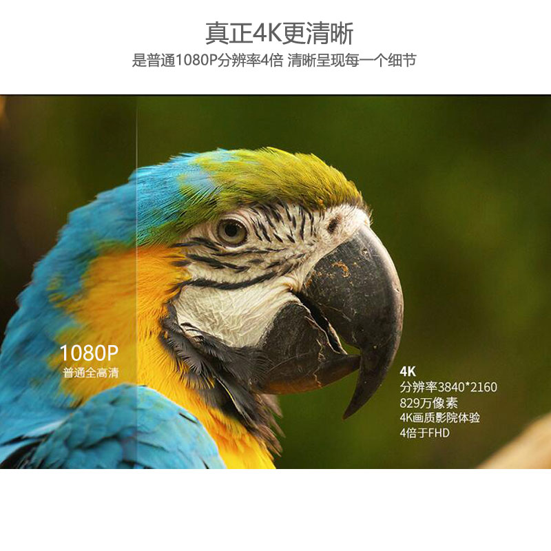 秋叶原hdmi高清线2.0视频线3d电脑4k电视机顶盒投影仪连接线
