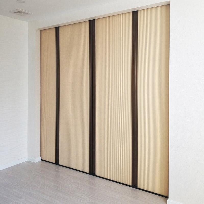 优诗曼折叠移门隔断室内门帘厨房推拉门阳台卧室移门推拉门定制