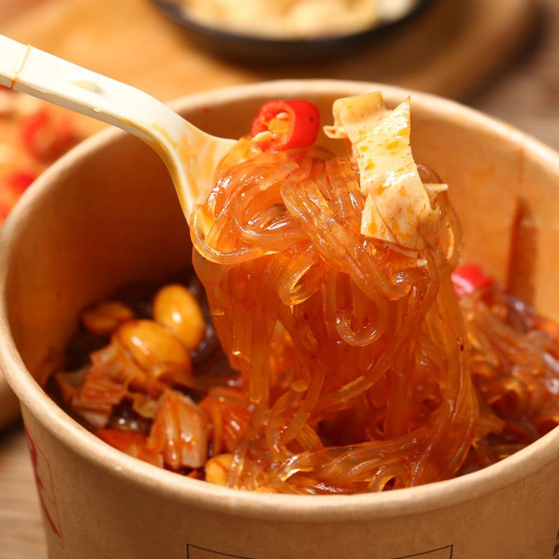 大胃王 嗨吃家酸辣粉 6桶装112g
