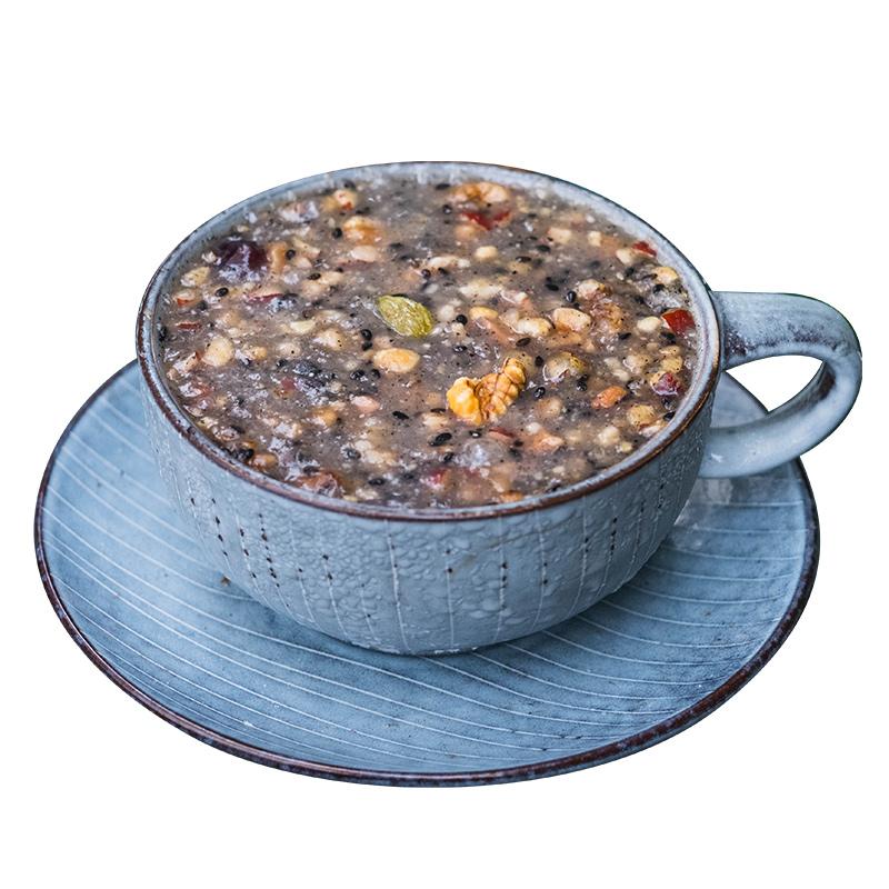 谢怡谷谷滋藕粉坚果羹西湖藕粉杭州特产即食早餐水果藕粉羹罐装